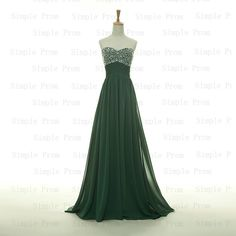 Custom+Aline+Sweetheart+Floorlength+Sleeveless+by+SimpleProm,+$109.00