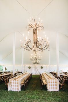 Tented Wedding Reception | Rustic Elegance | On SMP: http://www.stylemepretty.com/2013/11/22/north-carolina-cotton-farm-wedding-from-perry-vaile-photography |Perry Vaile Photography