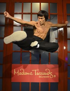Do not mess with this wax figure.