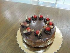 čokoládovo třešňový dort