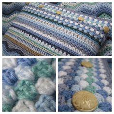 Tina's Allsorts Ripple Cushion Cover Crochet Cushion Cover, Crochet Cushions, Cushion Covers, Ripple Afghan, Blanket, Crochet Pillow, Pillow Shams, Blankets, Cover