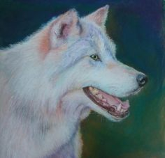 Wolf - WetCanvas Peeps, Husky, Wolf, Drawings, Artwork, Artist, Animals, Work Of Art, Animaux
