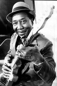 "McKinley Morganfield a.a Muddy Waters (Born April 1913 - Died April This musician is better known as ""The Father of Chicago Blues"". He is also the real father of famous blues musicians Big Bill Morganfield and Larry ""Mud Morganfield"" Williams. Mississippi, Blues Rock, Blues Artists, Music Artists, Pop Rock, Rock And Roll, Music Is Life, My Music, Delta Blues"