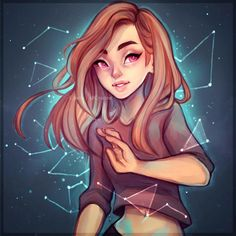 Constellations by Cyarin.deviantart.com on @DeviantArt
