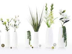 EASE XL Vase Bodenvase Ø18 ASA-Selection Weiß