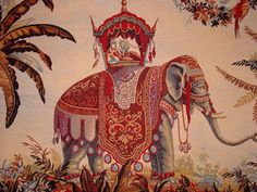 I love elephant images! Elephant Images, Elephant Art, Your Paintings, Animal Paintings, Old Art, Indian Art, Comic, Art Images, Bunt