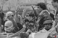 PLO is leaving Beyrouth, 1983.