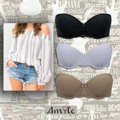 Multifuncionais para vários looks você encontra na www.amyle.com.br