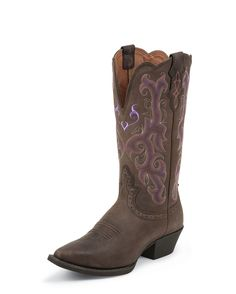 Justin Women's Chocolate Puma Boot - L2562.  *just ordered these babies*