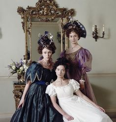 Molly, Cynthia, and Mrs. Gibson - Wives and Daughters