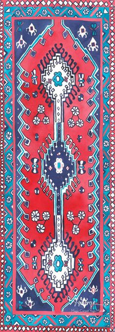 Image of Traditional Magic Carpet Yoga Mat