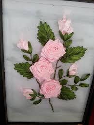 Resultado de imagen de ribbon silk embroidery