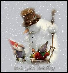 Snowman And Nisse