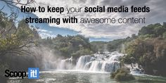 Finding content for your social media accounts can be time-consuming. Learn 7 efficient ways to keep your social media feeds filled with awesome content. New Opportunities, Lead Generation, Online Courses, Content Marketing, You Can Do, Online Business, Dreaming Of You, Social Media, Awesome