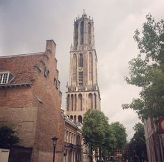 An essential sight in the city of Utrecht: the famous Domtoren 🇳🇱