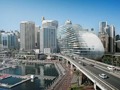 This Beautiful, Twisting Glass Building Could Be Google Australia's Next HQ