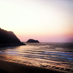 Playa de Zarautz en Zarauz, euskadi / Beach Zarautz in Zarautz, Basque Country #daleth