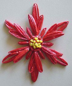 Flower Looms: Poinsettia