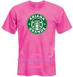 Exclusive Starbucks Grande Cat Ears Honeymoon Tour Concert Pink Shirt