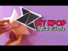 DIY KPOP: Mini libreta KNK | Pinku y Blaqui - YouTube