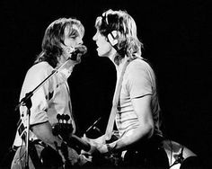 Roger Waters & David Gilmour Pink Floyd live concert young lust