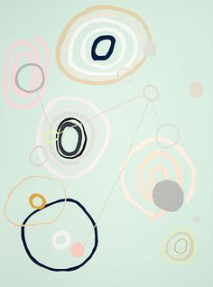 Kirra Jamison — The Design Files Open House Pattern Bank, Pattern Design, Graphic Design Illustration, Illustration Art, Illustrations, The Design Files, Blog Design, Geometry Pattern, Color Harmony