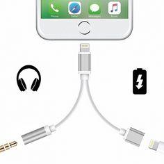 Adaptateur Lightning Argent 2 en 1 prise casque et recharge pour iPhone 7 et 7 Plus  à partir de 4.90€ cPix.fr ici : https://cpix.fr/store/iphone-7-plus-fournisseur-vitre-ecran-batterie/3318-iphone-7-plus-adaptateur-lightning-argent-2-1-prise-casque-recharge.html