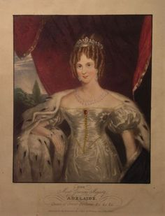 1830 (published) Queen Adelaide (Justin Skrebowski)