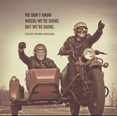 Tally ho..... Need to get a sidecar :)