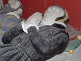 Lady Oxenbridge 1574 - from Tudor Effigies
