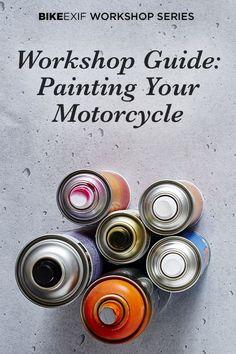 Motorcycle Wiring, Motorcycle Tips, Scrambler Motorcycle, Suzuki Cafe Racer, Cafe Racer Build, Cafe Racers, Honda Rebel 250 Bobber, Homemade Motorcycle, Aerosol Spray Paint
