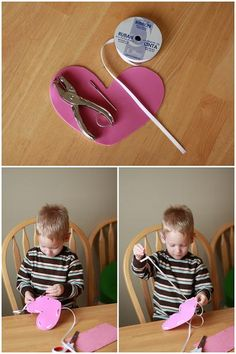 Easy Valentine's Crafts for Toddlers