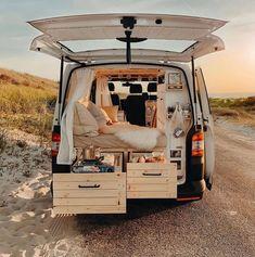 Build A Camper Van, Bus Camper, Camper Life, Rv Life, Sprinter Van Conversion, Camper Van Conversion Diy, Converted Vans, Vw Mk1, Saint Nazaire