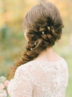 See the prettiest topknots, ponytails, tousled waves and fishtail braids ever—all right here. Check out these 17 wedding hairstyles we know you'll love!