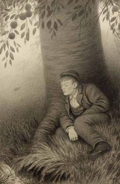 The Athenaeum - Krambugutten Med Gammelostlasten (Theodor Severin Kittelsen - ) Most Popular Artists, Great Artists, Theodore Kittelsen, Drawing S, Painting & Drawing, Art Shed, Folk, Nature Paintings, Gravure