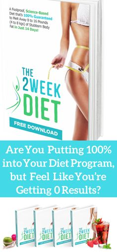 THE 2 WEEK DIET ACHIEVES IN ONLY 14 DAYS..