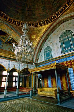 Imperial Hall with Sultan's Throne Topkapi