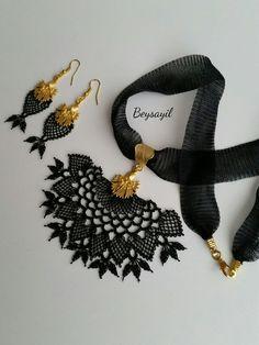 Needle Lace, Photo Craft, Tassel Necklace, Videos, Needlework, Photo And Video, Crochet, Handmade, Crafts