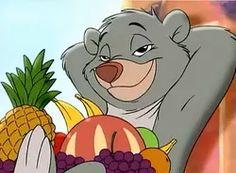 Baloo as a cub in Jungle Cubs