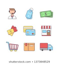 Stock Photo and Image Portfolio by Abbidzart Shop Icon, Icon Set, Business Icon, Teamwork, Ecommerce, Royalty Free Stock Photos, Illustration, Image, Illustrations
