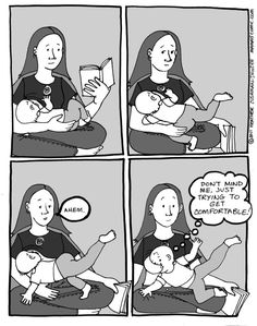 18 Comics That Capture The Reality Of Breastfeeding