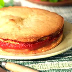 Cake de Guayaba - Guava Cake/Masa Real  @Crys Hansen, you got me thinking, dont know if u were looking for a real guava cake (no mix or juice) Cuban style. Looks awesome:)