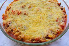 Mexicaanse lasagne met wraps