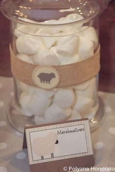 Little Lamb Baptism Party Ideas | Photo 1 of 18 | Catch My Party