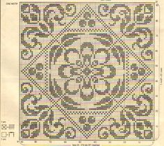 Kira scheme crochet: Scheme crochet no. Cross Stitch Pillow, Cross Stitch Bird, Cross Stitch Borders, Cross Stitch Designs, Cross Stitching, Cross Stitch Embroidery, Cross Stitch Patterns, Filet Crochet Charts, Crochet Motif