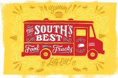 """The South's Best Food Trucks - The South's Best Food Trucks - Southernliving. There's just something about a meal served from the side of a truck. For one thing, we actually have to track down these vehicles, which can be an adventure in itself. But their most powerful appeal comes from their menu boards. These rolling restaurants are making some of the most innovative and exciting food in the South—often from scratch. """"With a food truck, you get to see the chef's mind in action,"""" says Paul…"""