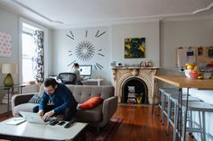 Adam & Ellen's Inspired Brooklyn Brownstone House Tour | Apartment Therapy