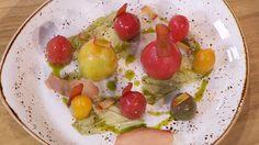 Receta de tomates rellenos de olivada y albahaca