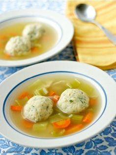 **The Secret to Fluffy and Airy Matzo Balls for your Matzo…