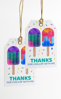 Popsicle Pool Party Thank You Tags ready to print and attach to your party favours. Thanks for Chillin' with me! Popsicle Pool Party Thank You Tags ready to print and attach to your party favours. Thanks for Chillin' with me! Easy Birthday Party Games, Summer Birthday, 3rd Birthday, Birthday Parties, Birthday Board, Birthday Ideas, Thank You Party, Thank You Tags, Party Favor Tags